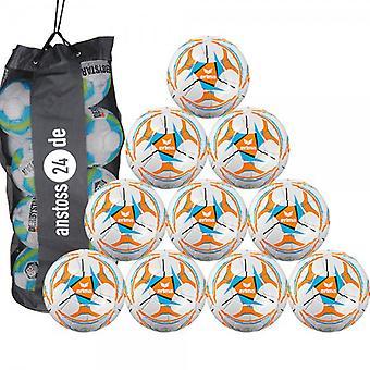 10 x erima youth ball Senzor all-round Lite 290 includes ball sack