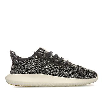 Womens adidas Originals Tubular Shadow Trainers In Core Black / Clear Brown