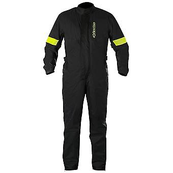 Alpinestars Black Hurricane Motorcycle Rain Suit
