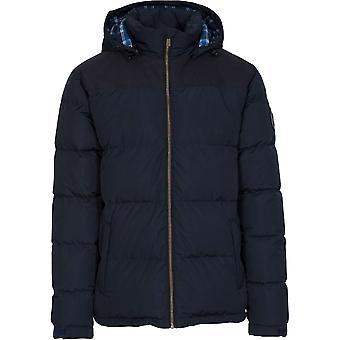 Trespass Hombres Paisaje acolchado abajo caliente impermeable chaqueta