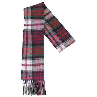 Locharron of Scotland Macdonald Dress Modern Lambswool Scarf - Green/Red/White
