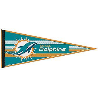 Wincraft NFL vilt wimpel 75x30cm-Miami Dolphins