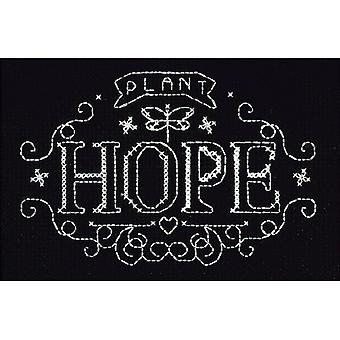 Plant Hope Counted Cross Stitch Kit-4