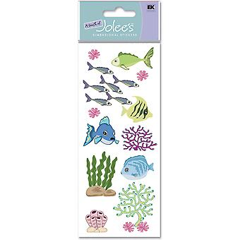 Touch Of Jolee's Dimensional Sticker Fish & Coral Spjj 161