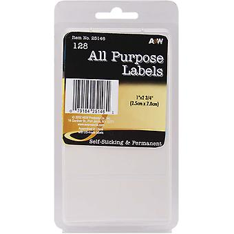 Labels White All Purpose 1