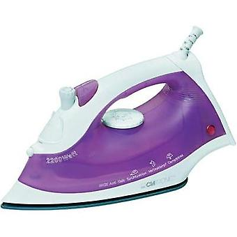 Steam iron Clatronic DB 3475 White, Pink 2200 W