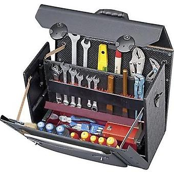 Parat Toolbox TOP-LINE 18000581 Dimensions: (W x H x D) 510 x 380 x 260 mm Calf leather, side walls made from HDPE plast