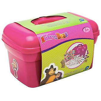 Cife Play briefcase and make Masha and the Bear (Toys , School Zone , Drawing And Color)
