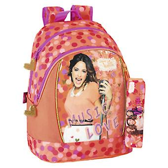 Import Backpack Violetta  Love  (Toys , School Zone , Backpacks)