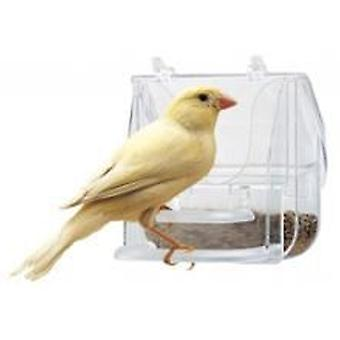 Ferplast Feeder Plast Pretty4522 Tran (Birds , Feeders & Water Dispensers , For Cages)