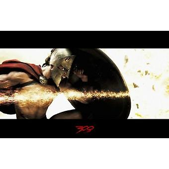 300 Movie Poster (17 x 11)