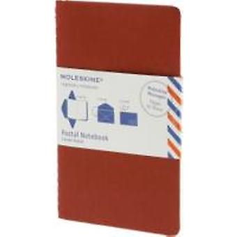 Moleskine Postal Notebook  Large Cranberry Red by Moleskine