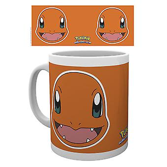 Pokemon Charmander twarz kubek