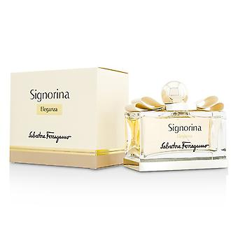 Salvatore Ferragamo Signorina Eleganza Eau De Parfum Spray 100ml/3.4oz
