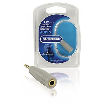 Bandridge-2.5 mm audio adapter