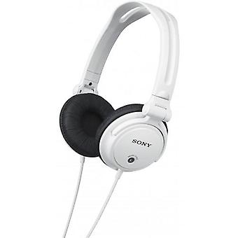 Sony Monitoring Headphones with Reversible Ear Cups - White (MDRV150W)