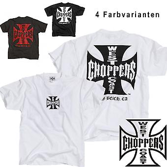 West Coast choppers T-Shirt iron cross original tea
