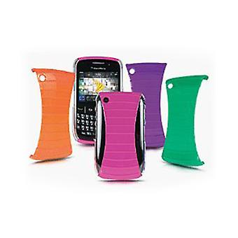 Sprint Rib Cage Shields CZB0855R for Blackberry 8530 / 9330 - Pink/Orange/Purple