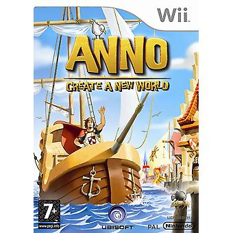 Anno Create A New World Nintendo Wii Game