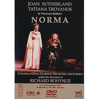 V. Bellini - Norma Opera completa [DVD] Stati Uniti importare