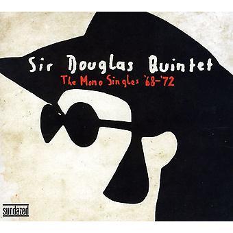 Sir Douglas Quintet - Mono singlar ' 68-72 [CD] USA import