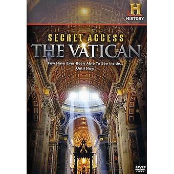 Secret Access: The Vatican [DVD] USA import