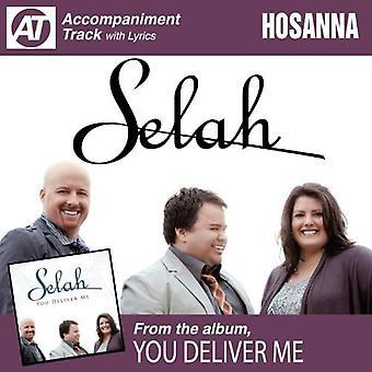 Minna - Hosianna (akkompagnement Track) [CD] USA importerer