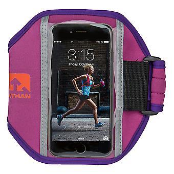 Nathan Super 5K Armtasche für iPhone 5-6 + Galaxy S4-S5 Lila 4923NVB