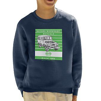 Haynes Workshop handmatige 0313 Toyota Landcruiser Stripe Kid's Sweatshirt