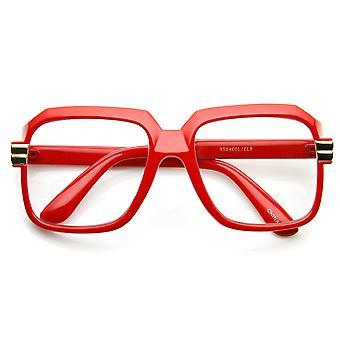 Colorful Square Frame Plastic Hip Hop Retro Hip-Hop Glasses