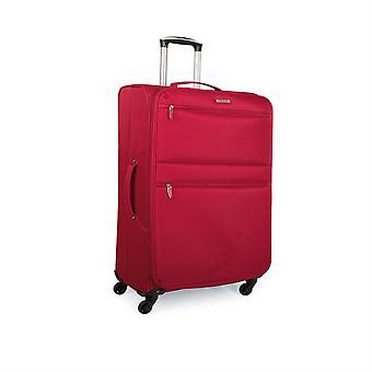 I52750 kuffert Trolley 50Cm kabine polyester. Håndbagage. Lys og halvstiv. Teleskopfunktion håndtag, 2 håndtag, 4 hjul. Ideel flyrejser Low Cost Ryanair