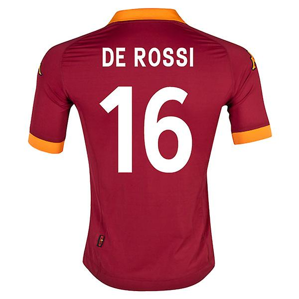 2012-13 Roma Home Shirt (De Rossi 6)
