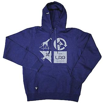 LRG RC Logo Mash Up Pullover Hoodie Navy Lyng