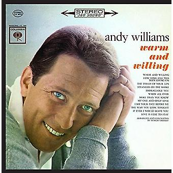 Andy Ailliams - Warm and Willing [CD] USA import
