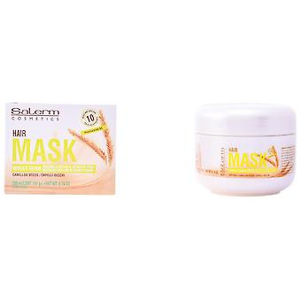 Salerm Cosmetics Wheat Germ Mask 200Ml (Woman , Hair Care , Conditioners and masks)