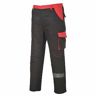 Portwest - Poznan tofarget Workwear bukse