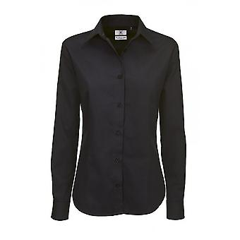 B&C Womens/Ladies Sharp Twill Long Sleeve Shirt