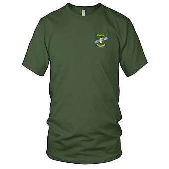 US Marine Küsten-Geschwader 1 gestickt Patch - schnelle Boot Vietnam grün Herren T Shirt