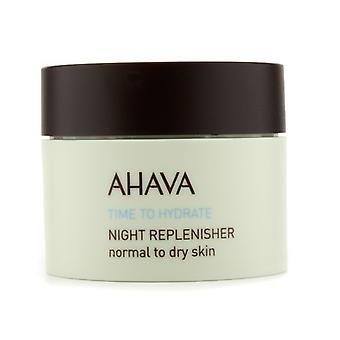 Ahava Time To Hydrate Nacht Replenisher 50ml / 1.7oz (normale tot droge huid)