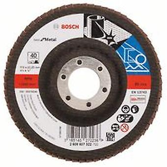 Bosch 2608607322 115Mm P40 X571 Flap Disc For Metal Straight