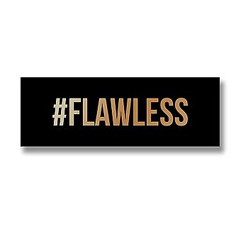Hill Interiors '#Flawless' Gold Foil Plaque