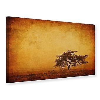 Canvas Print Sunset Mood