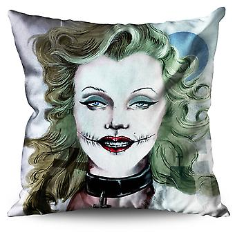 Woman Art Famous Linen Cushion Woman Art Famous | Wellcoda