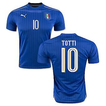 2016-2017 Italy Puma Home Shirt (Totti 10)