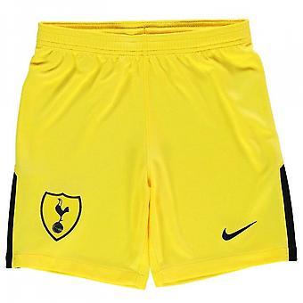 2017-2018 Tottenham Home Nike Goalkeeper Shorts (Yellow) - Kids