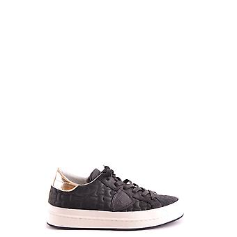 Philippe model women's MCBI238068O black leather of sneakers