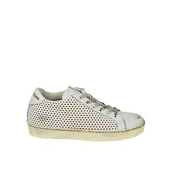 Leather Crown women's WICONIC2 White leather of sneakers