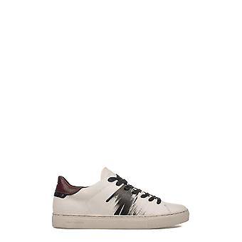 Crime London Herren 11310A17B87 Weiss Leder Sneakers