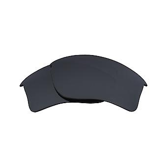 FLAK JACKET XLJ Polarized Lenses Accessories Kit Iridium Black by SEEK OPTICS