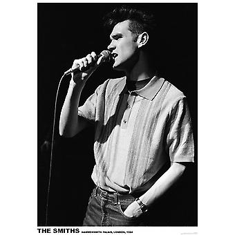 Smiths Morrissey Live Poster Poster Print